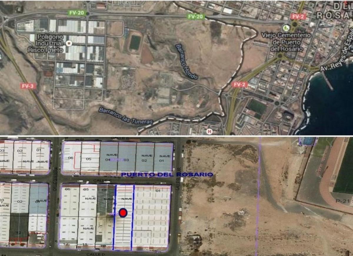 Nave Industrial en Venta en  Puerto del Rosario