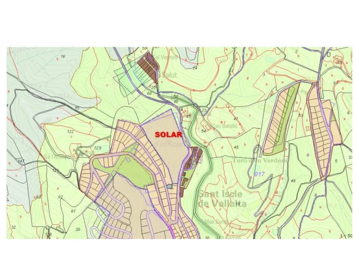 Suelo Urbano en Venta en  Sant Iscle de Vallalta