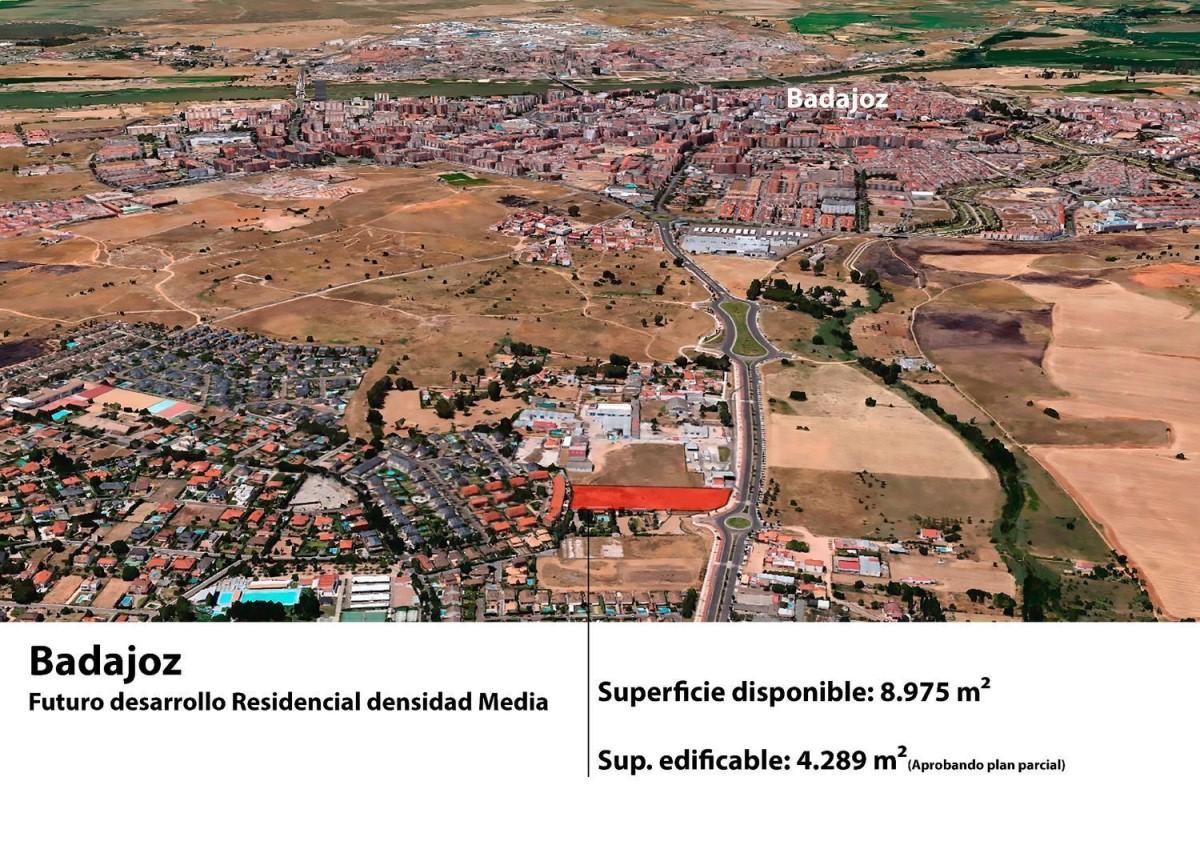 Suelo Urbano en Venta en  Badajoz