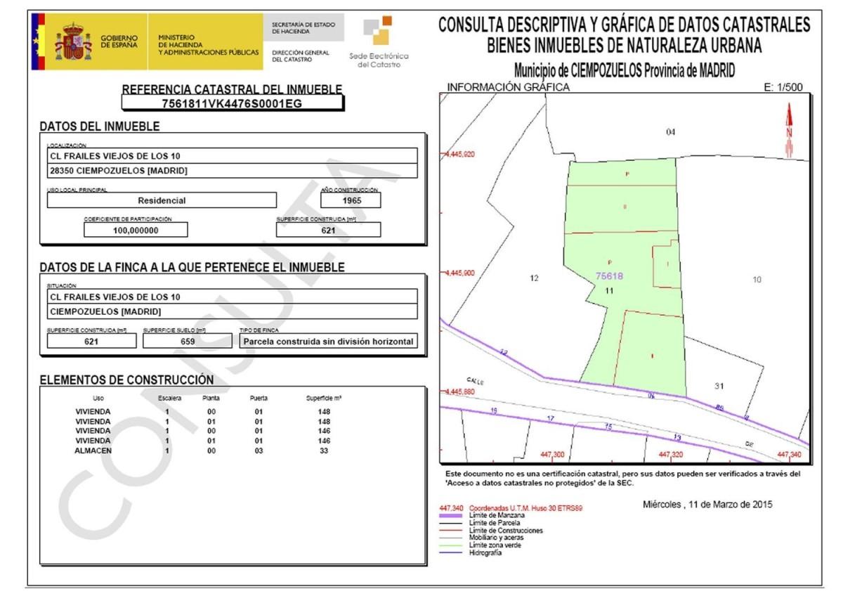 Casa Rural en Venta en  Ciempozuelos