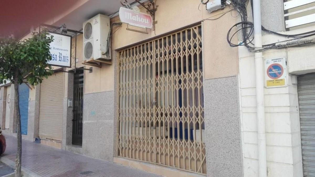 Local Comercial en Venta en  Santa Pola