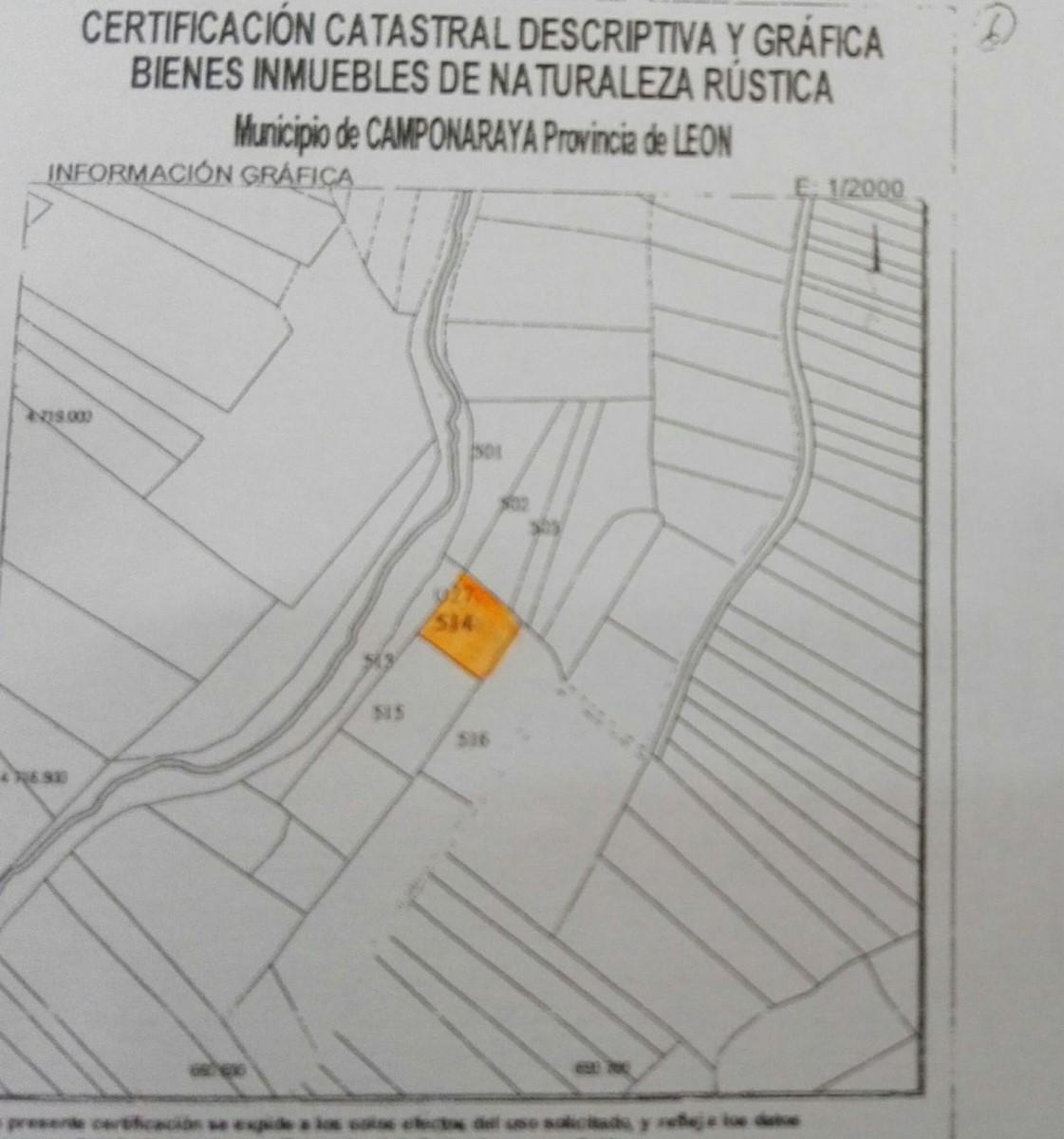 Suelo No Urbano en Venta en  Camponaraya