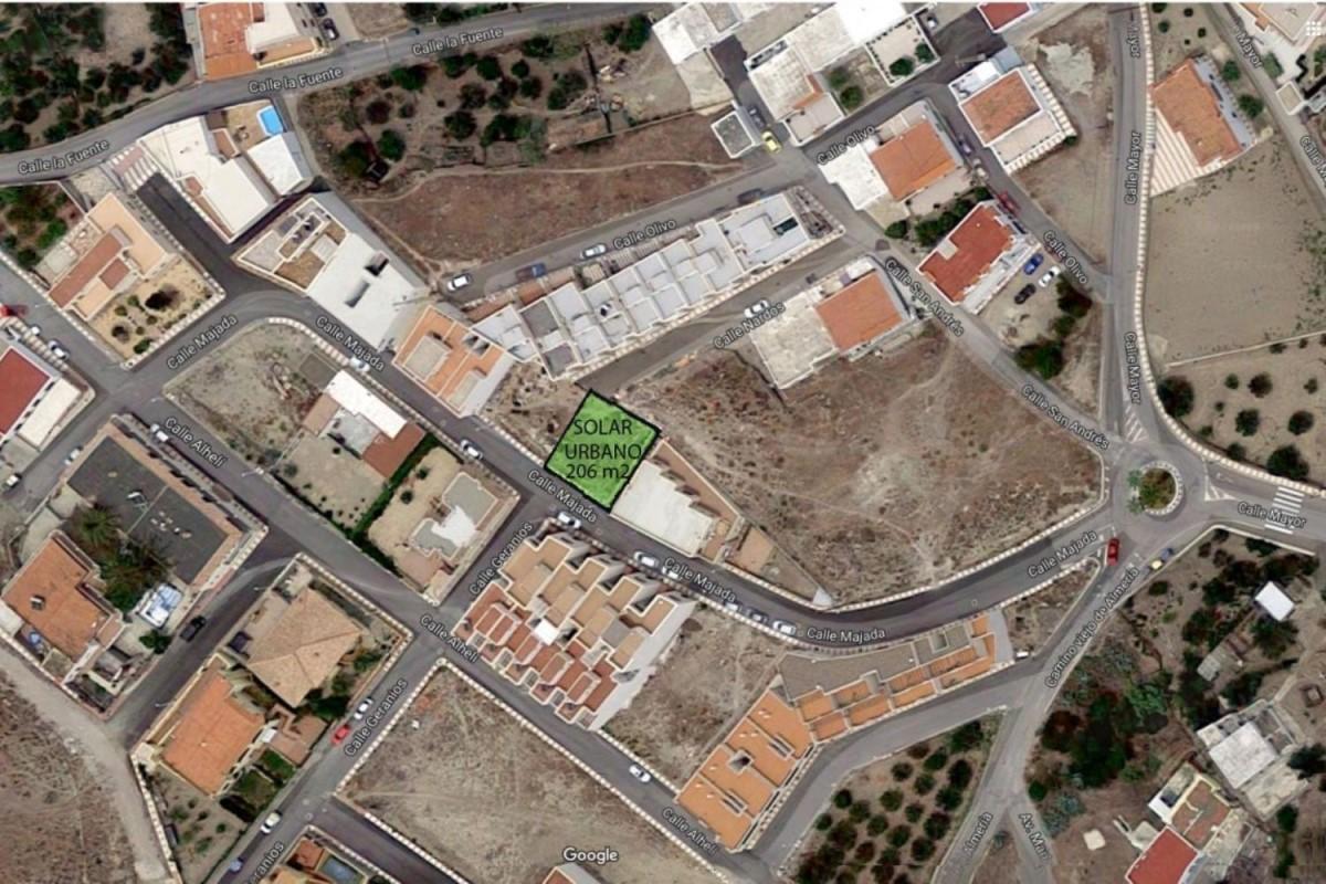 Suelo Urbano en Venta en  Carboneras