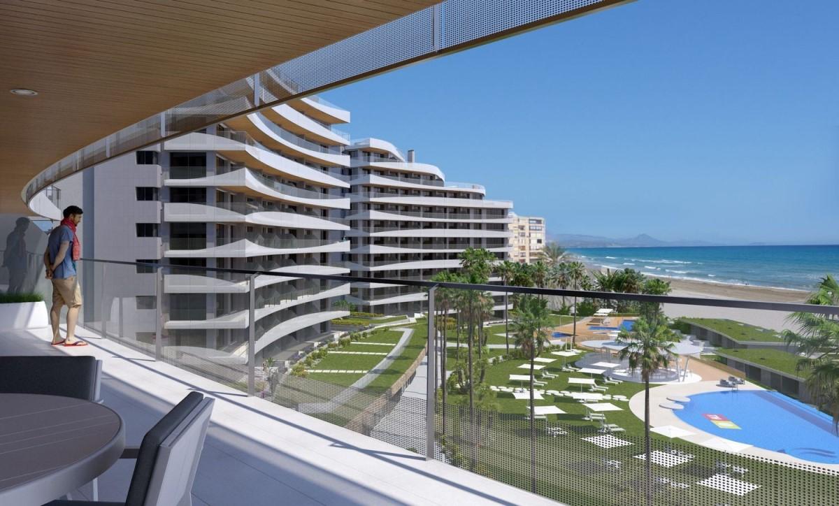 Piso En Venta En Playa De San Juan El Cabo Alicante Alacant Alicante # Muebles Muchamiel Alicante
