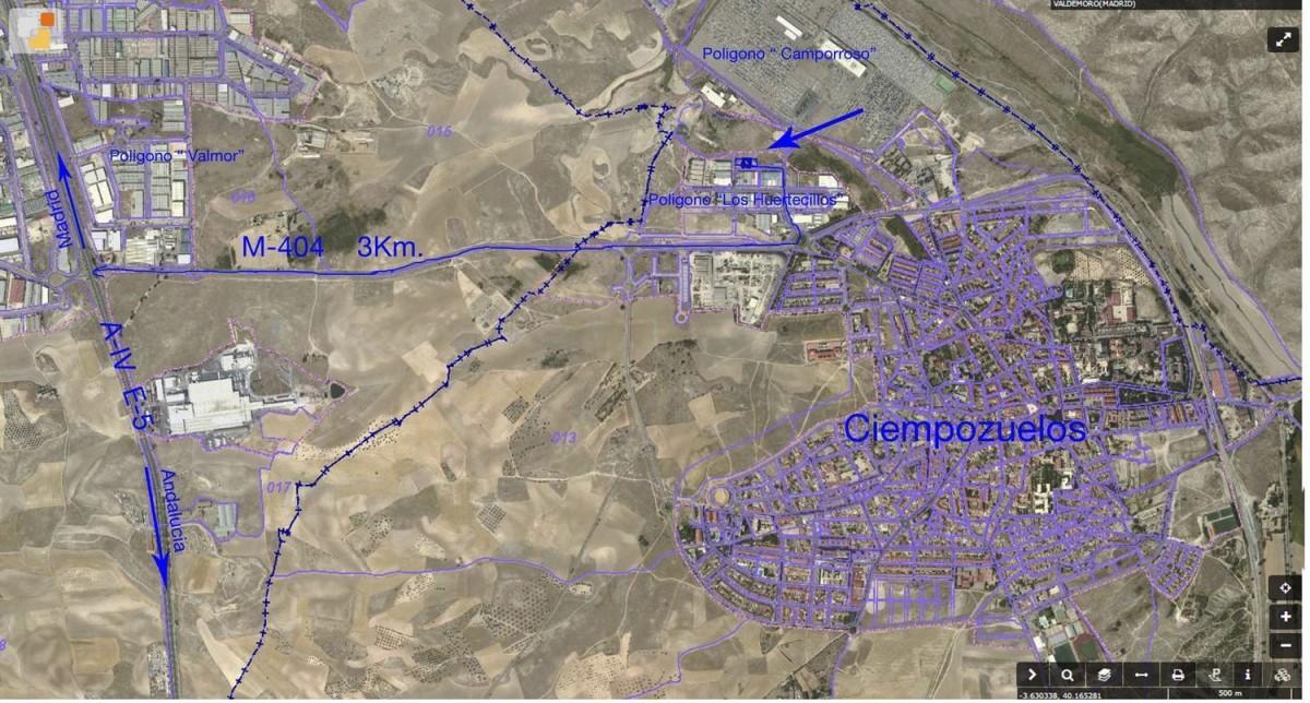 Suelo Urbano en Venta en  Ciempozuelos