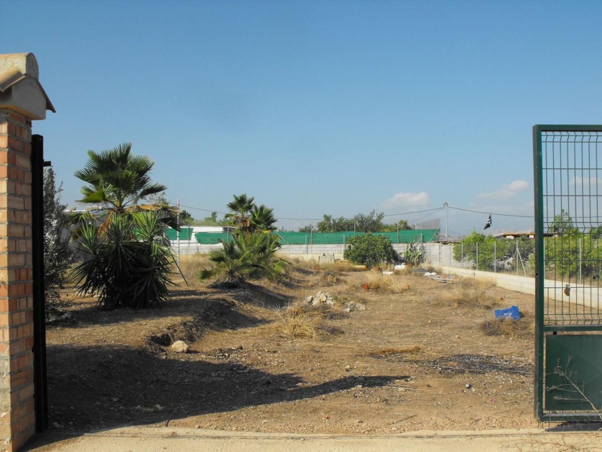 Suelo No Urbano en Venta en Pedanías Oeste, Murcia
