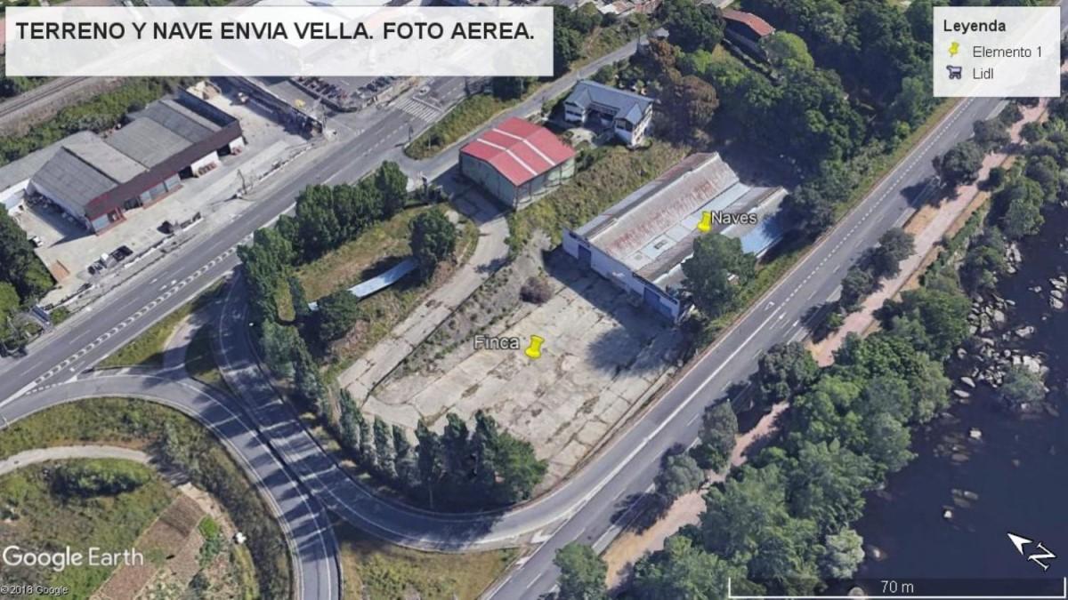 Nave Industrial en Venta en  Ourense