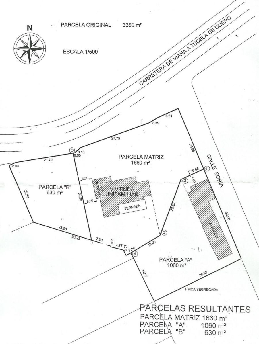 Urban lot  For Sale in  Viana de Cega