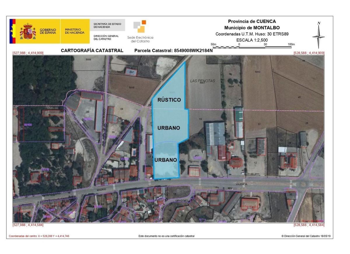 Suelo Urbano en Venta en  Montalbo