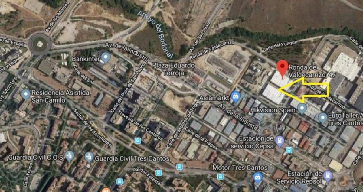 Nave Industrial en Venta en  Tres Cantos