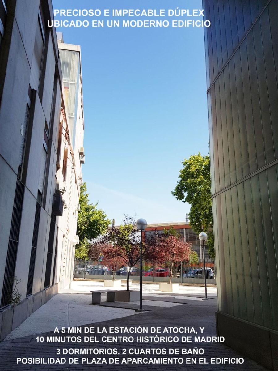 Dúplex en Alquiler en Arganzuela, Madrid