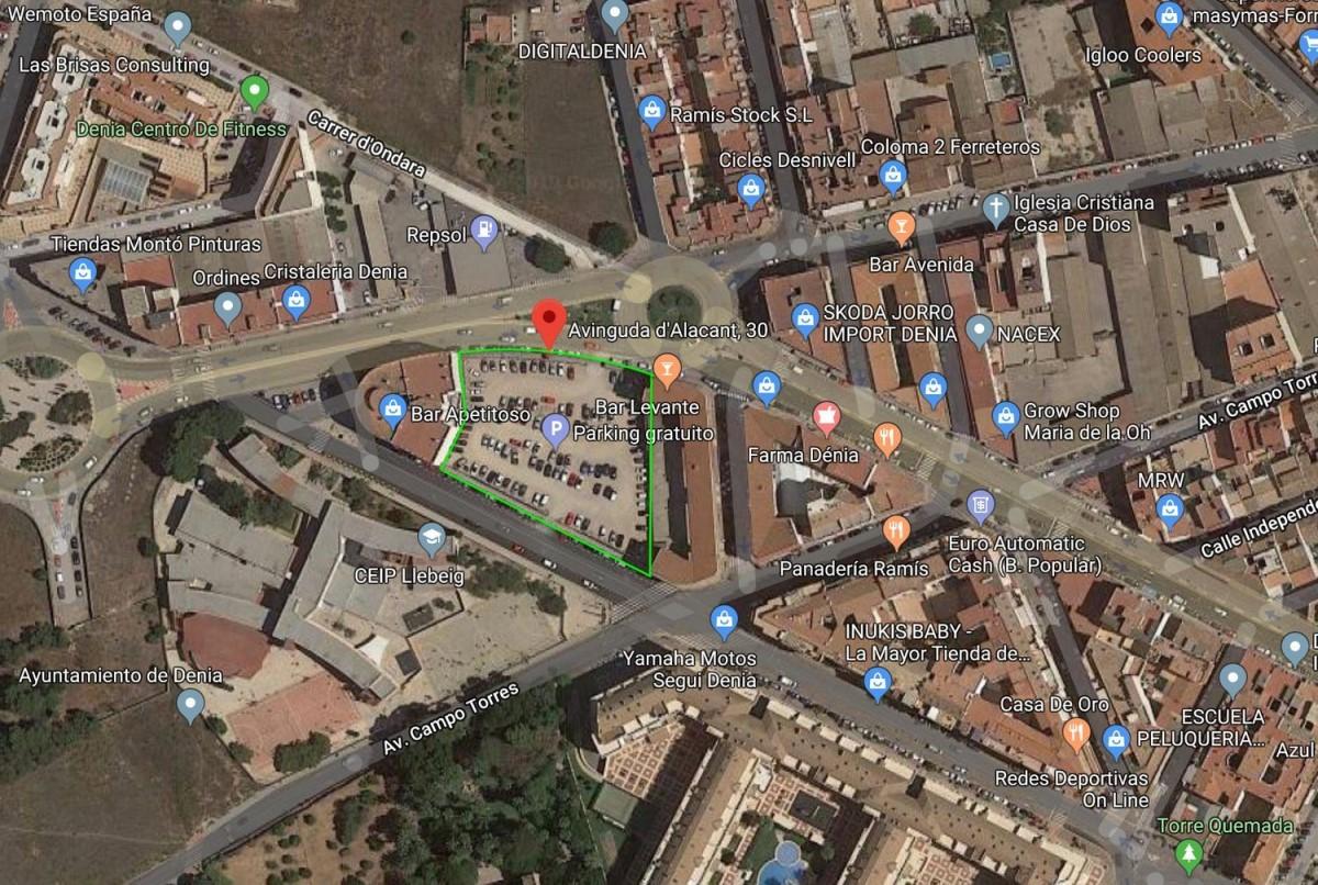 Suelo Urbano en Alquiler en  Denia