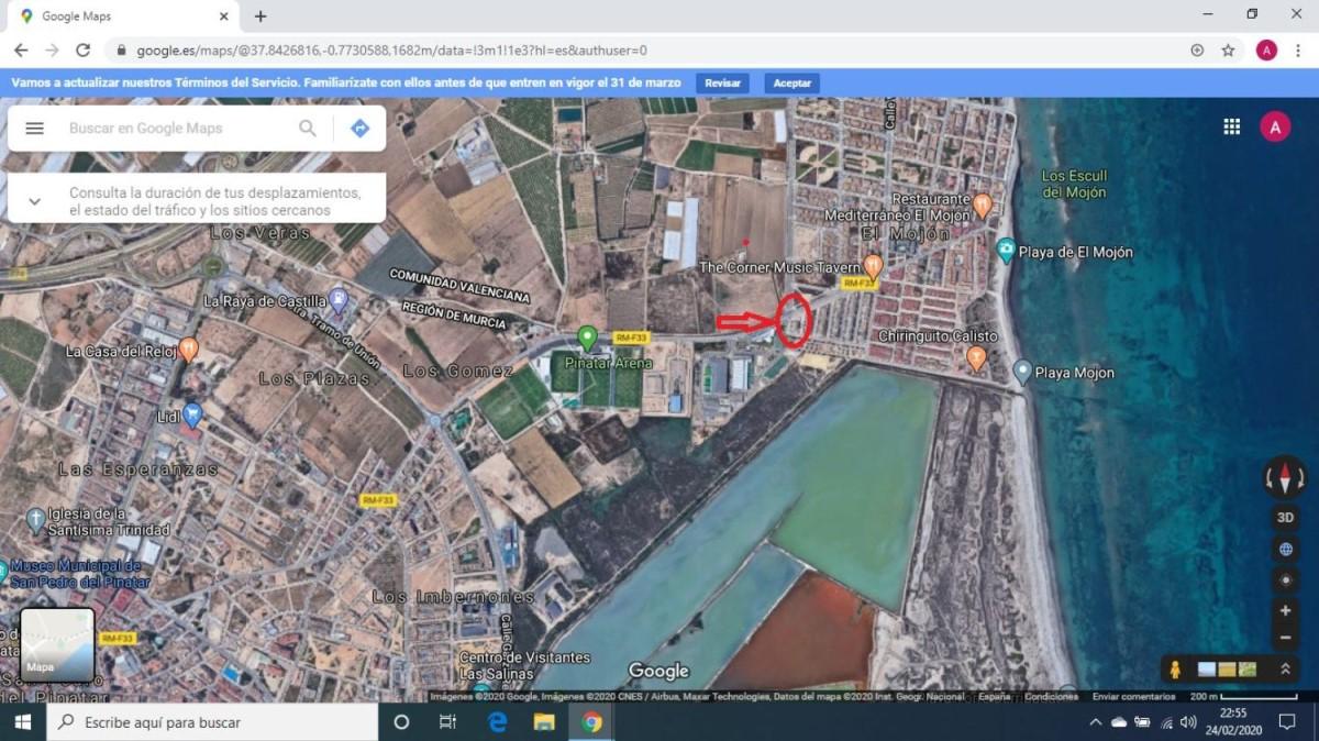 Suelo Urbano en Venta en  San Pedro del Pinatar